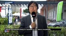 """L'écologiste Jean-Vincent Placé salue """"l'intervention très forte"""" de Montebourg"""