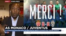 """Monaco éliminé de la Ligue des champions : """"Si la Juventus était prenable, c'était ce soir"""""""