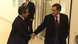 Nicolas Sarkozy François Fillon UMP 2 décembre 2014