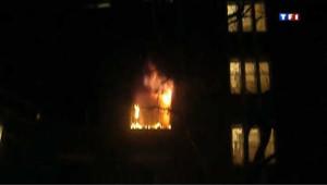 Paris incendie