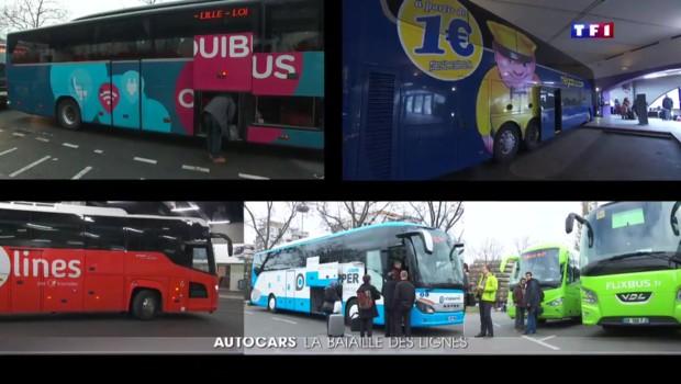 Boom des autocars : toujours plus de services à bord pour distancer les concurrents