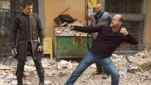 Joss Whedon sur le tournage d'Avengers 2