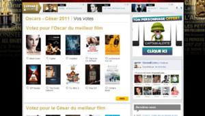 Oscars et César 2011 sur Excessif.com