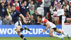 Rugby : match Japon-Ecosse, 23/9/15