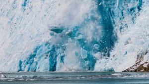 La fonte des glaces.