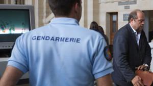 Me Dupont-Moretti, avocat d'Abdelkader Merah, à son arrivée au palais de Justice de Paris le 10 septembre 2012