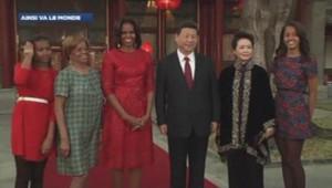 Michelle Obama à Pékin, le 21 mars.