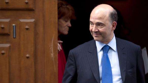 Pierre Moscovici, le 9/5/12