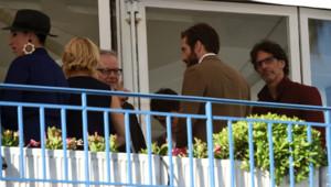 Une partie du jury de Cannes 2015 avant le dîner du 12 mai