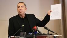 Jean-Marc Morandini lors de sa conférence de presse du 19 juillet 2016