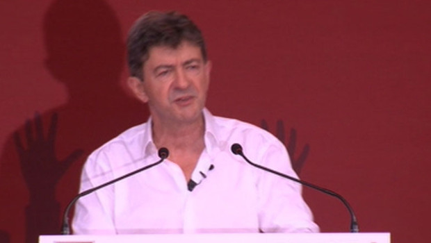 Meeting de Mélenchon