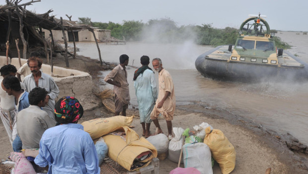 Pakistan : sinistrés des inondations, 24 août 2010