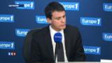 """Valls aux ouvriers : """"Pas de place pour la violence"""""""