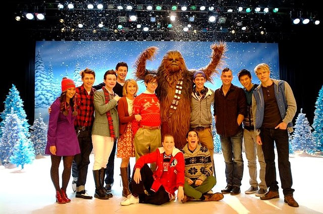Chewbacca dans Glee