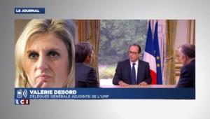 """Debord sur Hollande: """"Pour dire quoi que ce soit il faut être exemplaire, il est loin de l'être"""""""