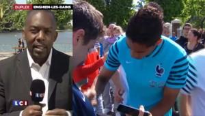 Football : décontraction et concentration pour les Bleus avant France-Belgique