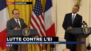 """Hollande : """"Après les attentats, le premier à m'avoir appelé, c'est Barack"""""""