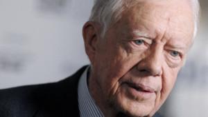 L'ex-président des Etats-Unis Jimmy Carter (11/10/2007)