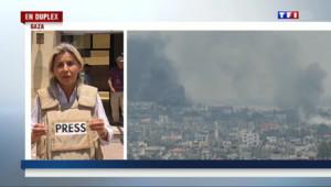 Le 13 heures du 20 juillet 2014 : En duplex de Gaza, l'envoy�sp�ale Liseron Boudoul - 227.69306393432615