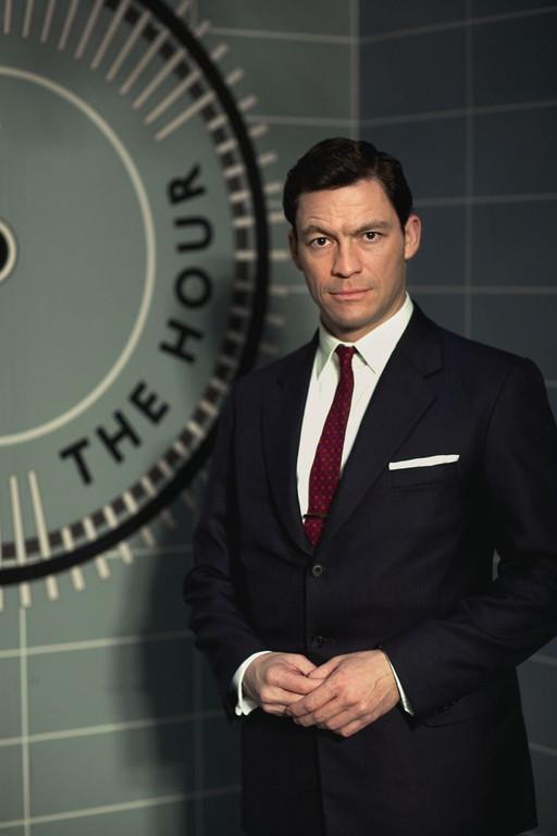 The Hour - Saison 1. Série britannique créée par Abi Morgan en 2011. Avec : Dominic West, Romola Garai, Ben Whishaw