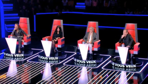 Jenifer, Garou, Louis Bertignac, Florent Pagny - The Voice 2