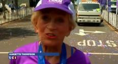 """La marathonienne la plus âgée au monde n'a pas """"l'impression de mériter tout cet intérêt"""""""