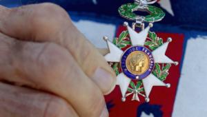 La médaille de Chevalier de la Légion d'Honneur