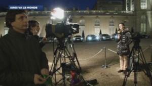 La télévision allemande devant l'Elysée