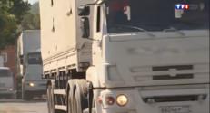 Le 13 heures du 23 août 2014 : Ukraine : le convoi humanitaire de retour en Russie - 295.91