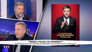 """Stéphane Guillon : François Hollande, """"c'est notre Pierre Richard à nous"""""""