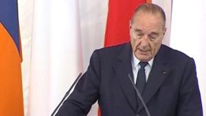 TF1/LCI : Jacques Chirac à Erevan, en visite d'Etat en Arménie