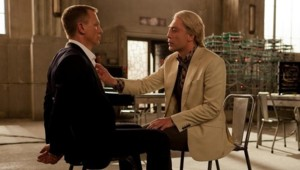 Daniel Craig et Javier Bardem dans le film Skyfall de Sam Mendes