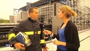 Incendie à la Cité des Sciences maîtrisé : les pompiers toujours sur place