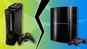 La PS3 de Sony face à la nouvelle version de la Xbox 360 de Microsoft.