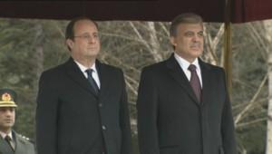 Le président Hollande en visite en Turquie.