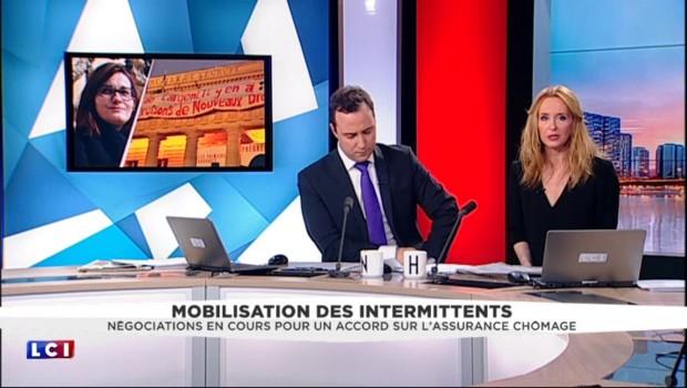 """Mobilisation des intermittents : """"Nous avons été victimes de violences policières inacceptables"""""""