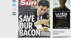 Une du Sun Ed Miliband