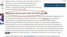 40.000 euros de frais de taxis : la note salée de la présidente de l'INA