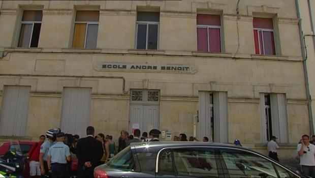 Arles, l'école primaire où un écolier se serait pendu le 26 mai 2011