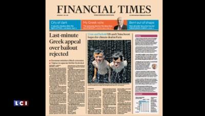 """Dette de la Grèce : """"Acropolis now"""", la revue de presse internationale"""