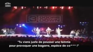 """""""Mec, on ne frappe pas une femme !"""" : soudain le chanteur interrompt son concert"""