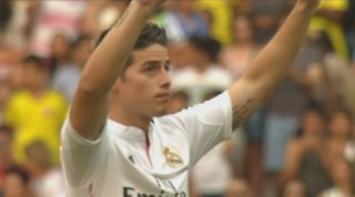 James Rodriguez arrive au Real Madrid, les fans en furie