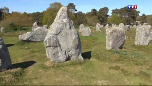 Le 20 heures du 16 avril 2014 : Les menhirs bretons bient�u patrimoine mondial de l%u2019UNESCO ? - 1825.749
