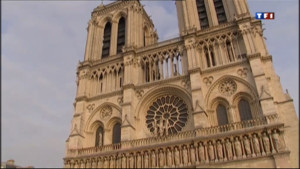 Le 20 heures du 23 mars 2013 : Notre-Dame fait sonner ses nouvelles cloches - 1442.6503779296875
