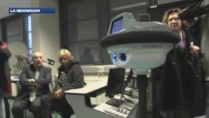 """Le """"robot lycéen"""" destiné à remplacer les élèves absents"""