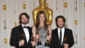 oscars Démineurs Mark Boal, Kathryn Bigelow