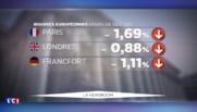 Paris, Londres, Tokyo... Les places boursières mondiales voient rouge