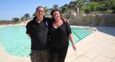 Bienvenue au camping - Alexandra et Georges - Jeudi 28 août