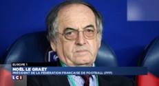 """Corruption à la FIFA : pour Noël Le Graët, """"ce n'est pas un vrai drame"""""""