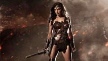 Gal Gadot en Wonder Woman dans le film Batman v Superman